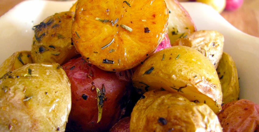 Provencal Roasted Potatoes
