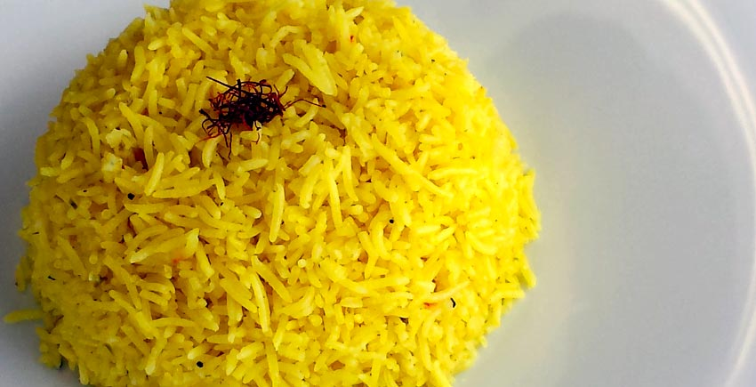 Saffron Rice - Heather's Heat and Flavor