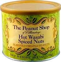 hot wasabi spiced nuts