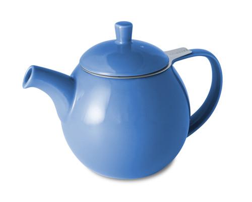 blue curve teapot 24oz